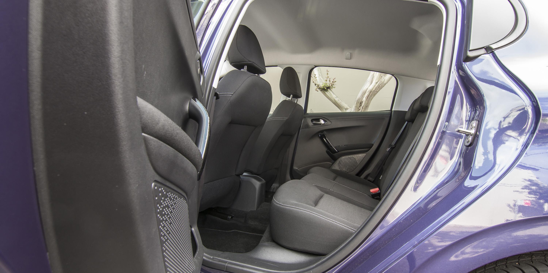 2016 Peugeot 208 Active Rear Seats Interior