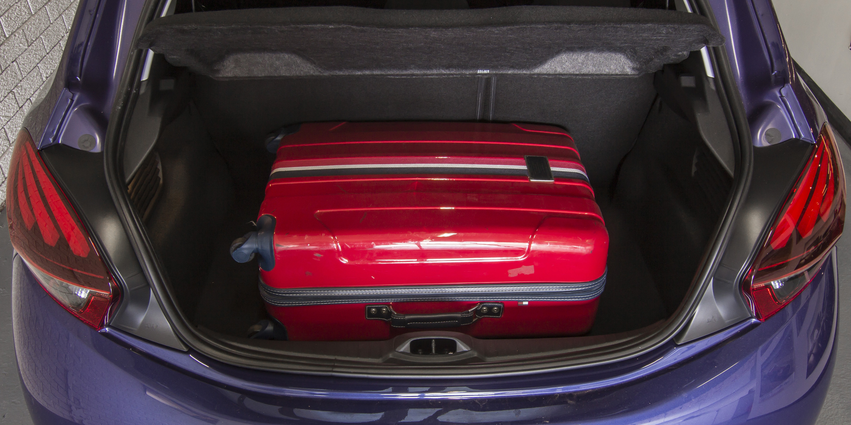 2016 Peugeot 208 Active Trunk Capacity