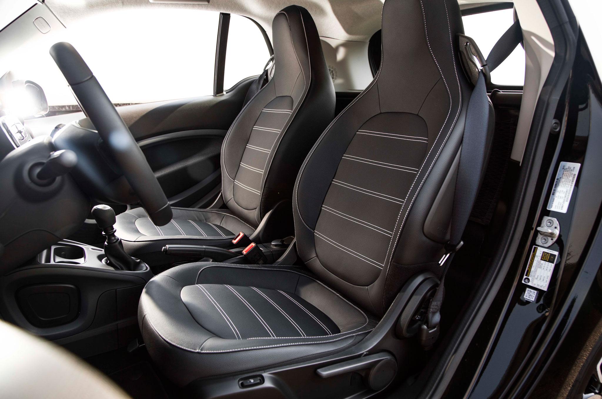 2016 Smart Fortwo Seats Interior