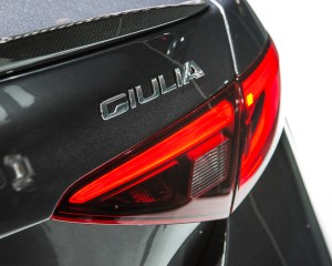 2017 Alfa Romeo Giulia Quadrifoglio Taillight