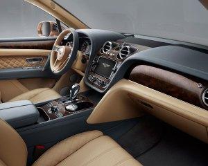 2017 Bentley Bentayga Dashboard Interior