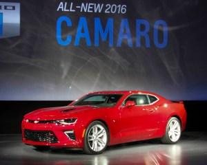 All-New 2016 Chevrolet Camaro SS
