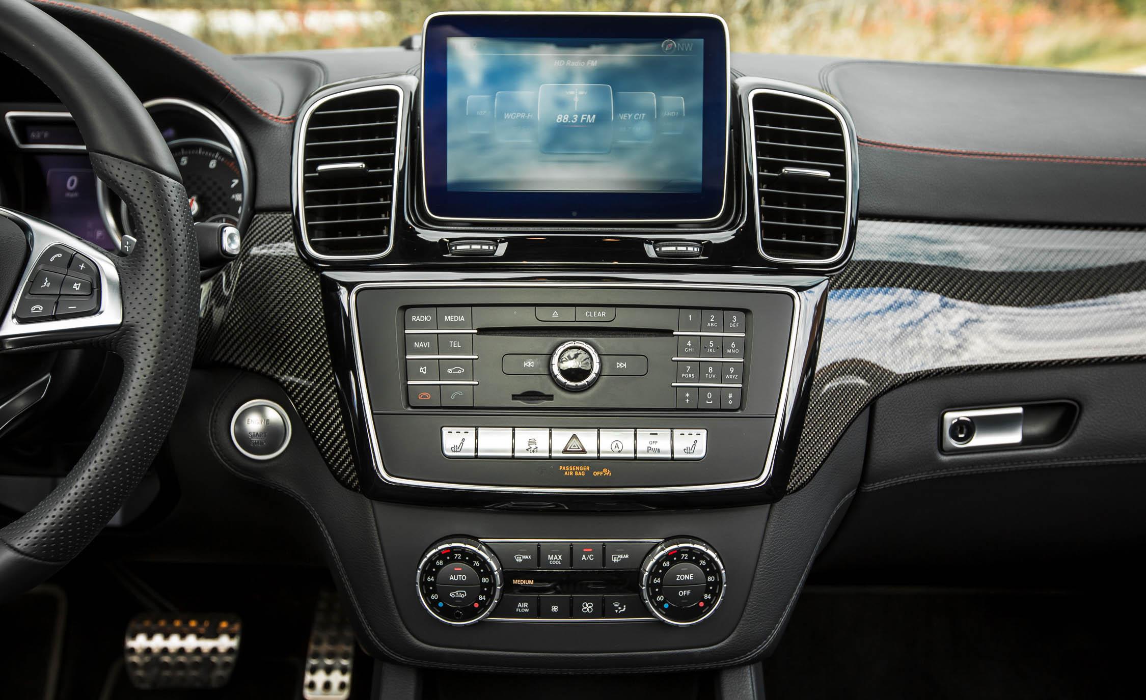 Center Head Unit Mercedes-Benz GLE450 AMG Coupe 2016