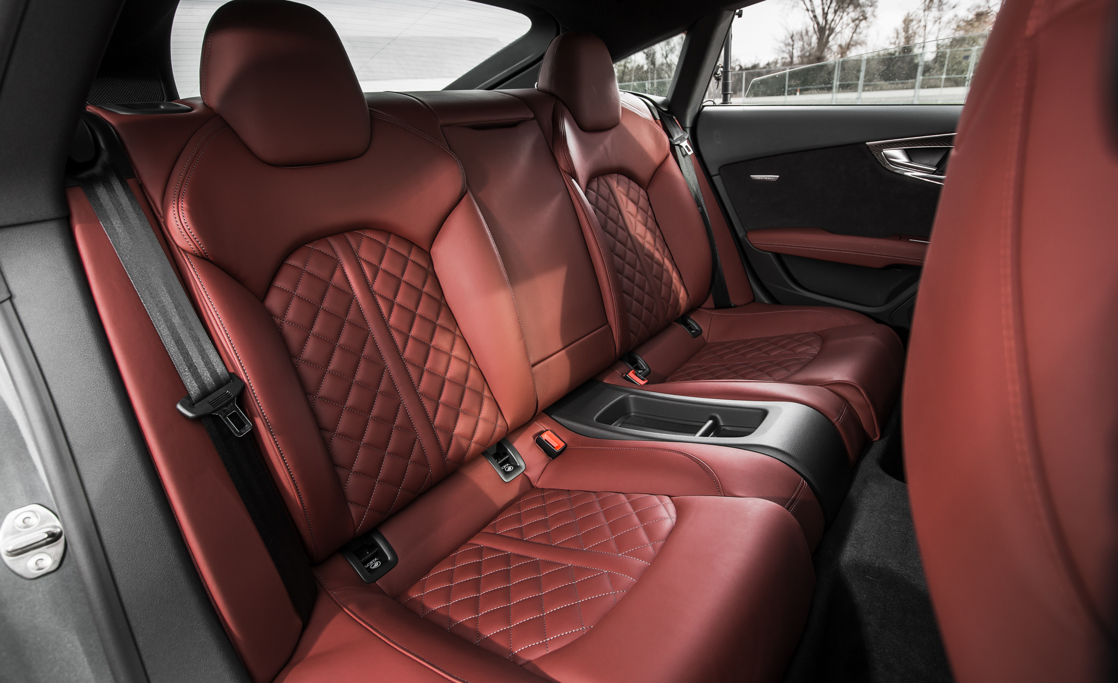Rear Passenger Seats Interior Audi S7 Sedan 2016