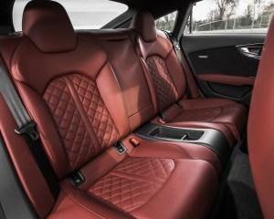 Rear Passenger Seats Interior Audi S7 Sedan 2016