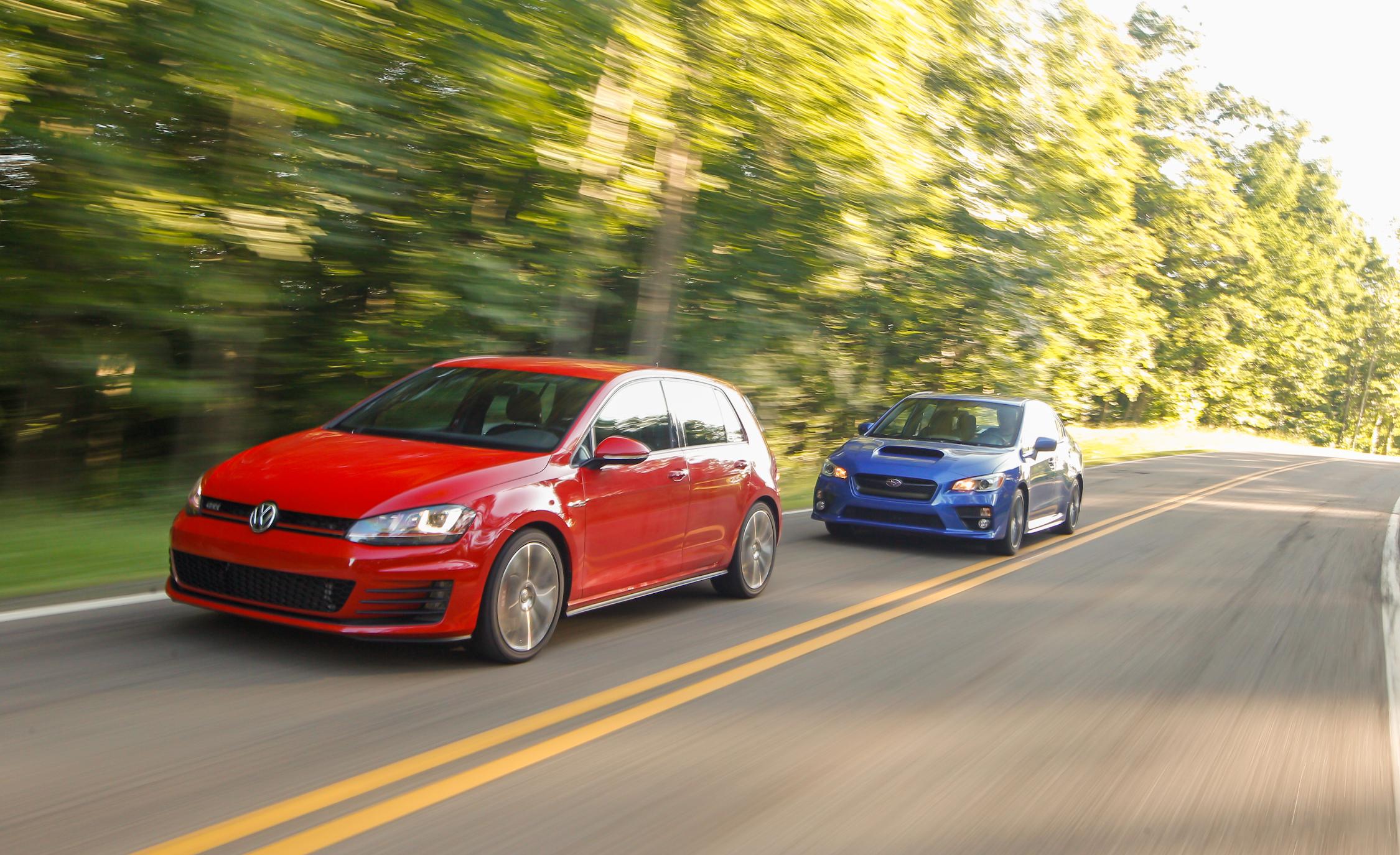 Volkswagen GTI vs 2015 Subaru WRX Comparison