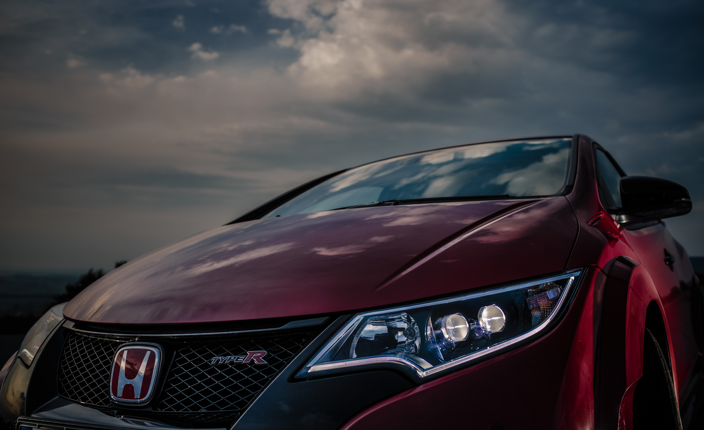 2015 Honda Civic Type R Exterior Headlight