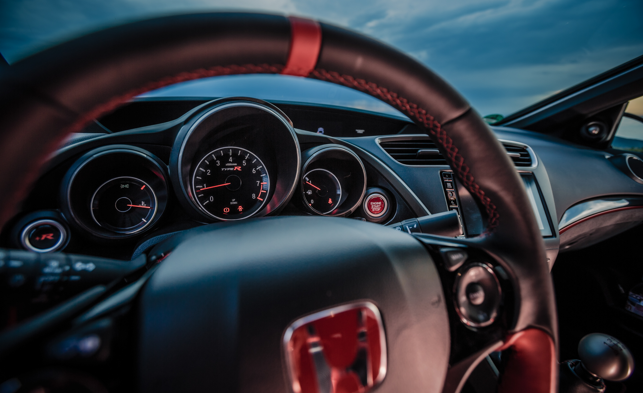 2015 Honda Civic Type R Interior Speedometer