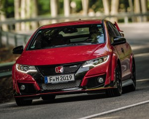 2015 Honda Civic Type R Test Front View