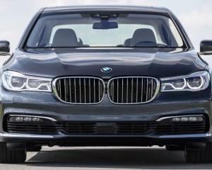 2016 BMW 750i xDrive Gray Metallic Exterior Front