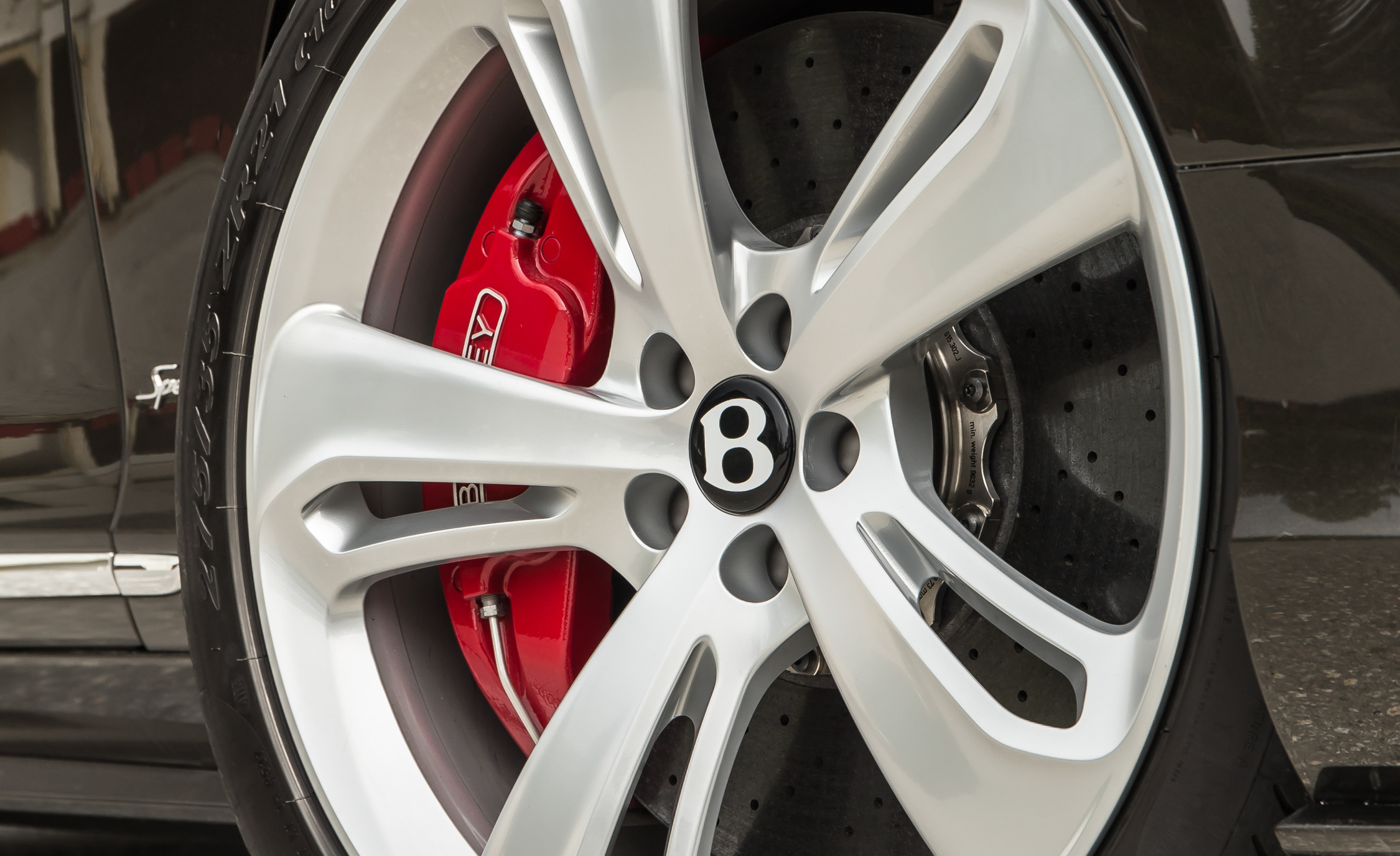 2016 Bentley Continental GT Speed Exterior Wheel Trim