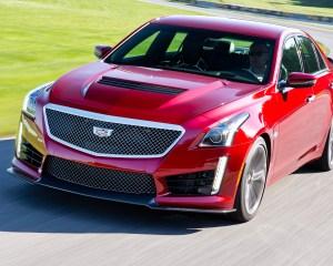 2016 Cadillac CTS-V Red
