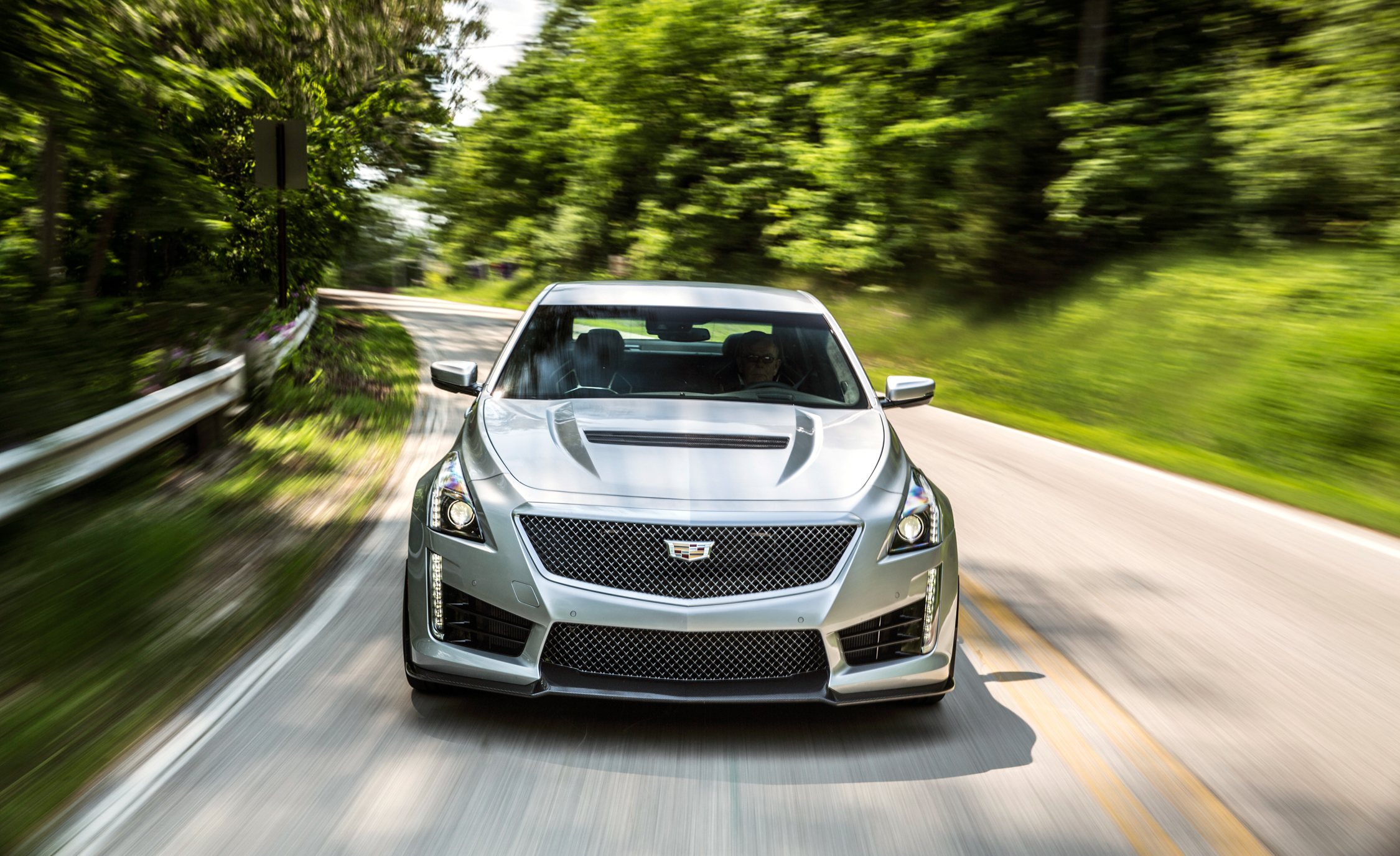 2016 Cadillac CTS-V Test Front View