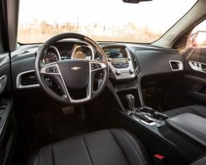 2016 Chevrolet Equinox LTZ Interior Cockpit