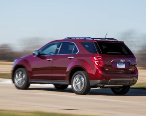 2016 Chevrolet Equinox LTZ Test Rear and Side View