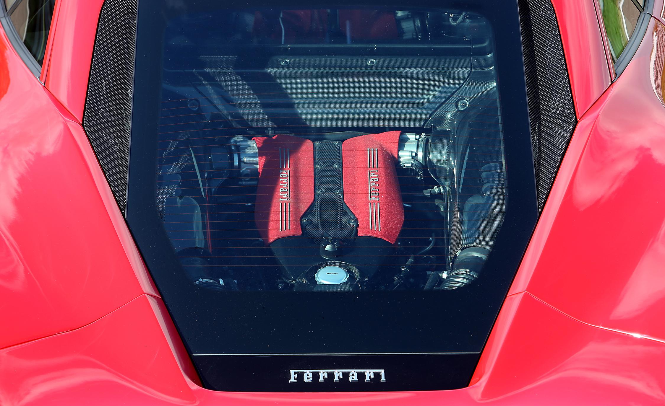 2016 Ferrari 488GTB Exterior Engine