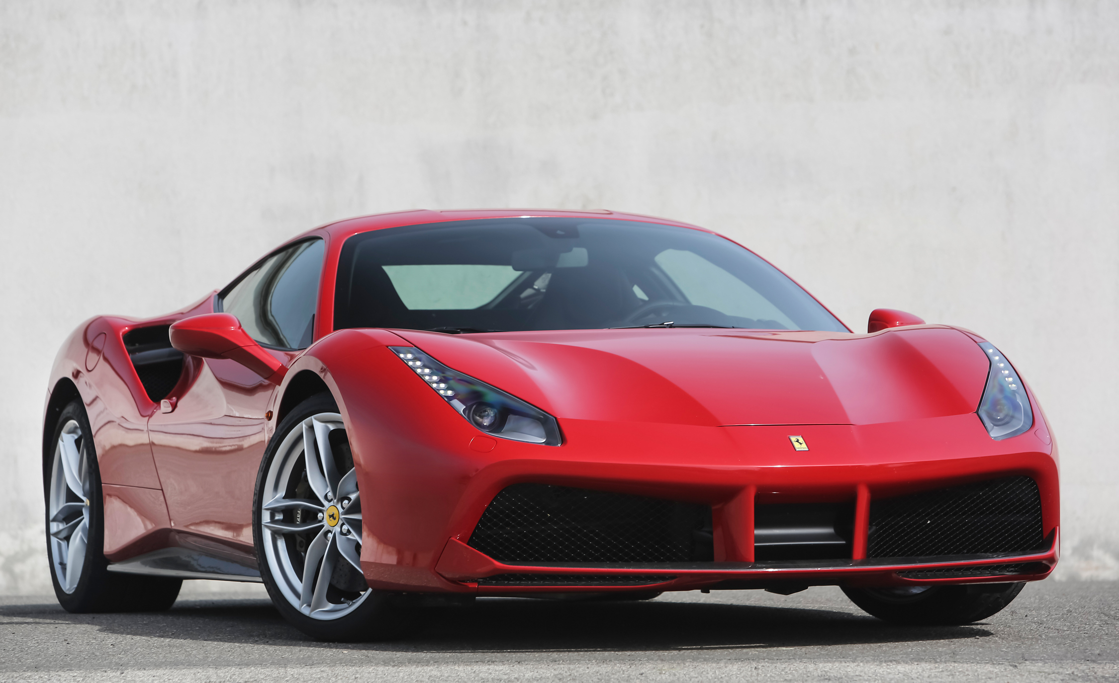 2016 Ferrari 488GTB Exterior Full