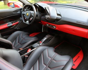 2016 Ferrari 488GTB Interior Dashboard