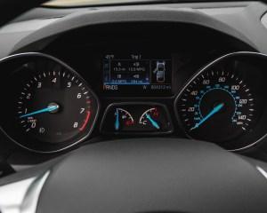 2016 Ford Escape Ecoboost SE Interior Speedometer