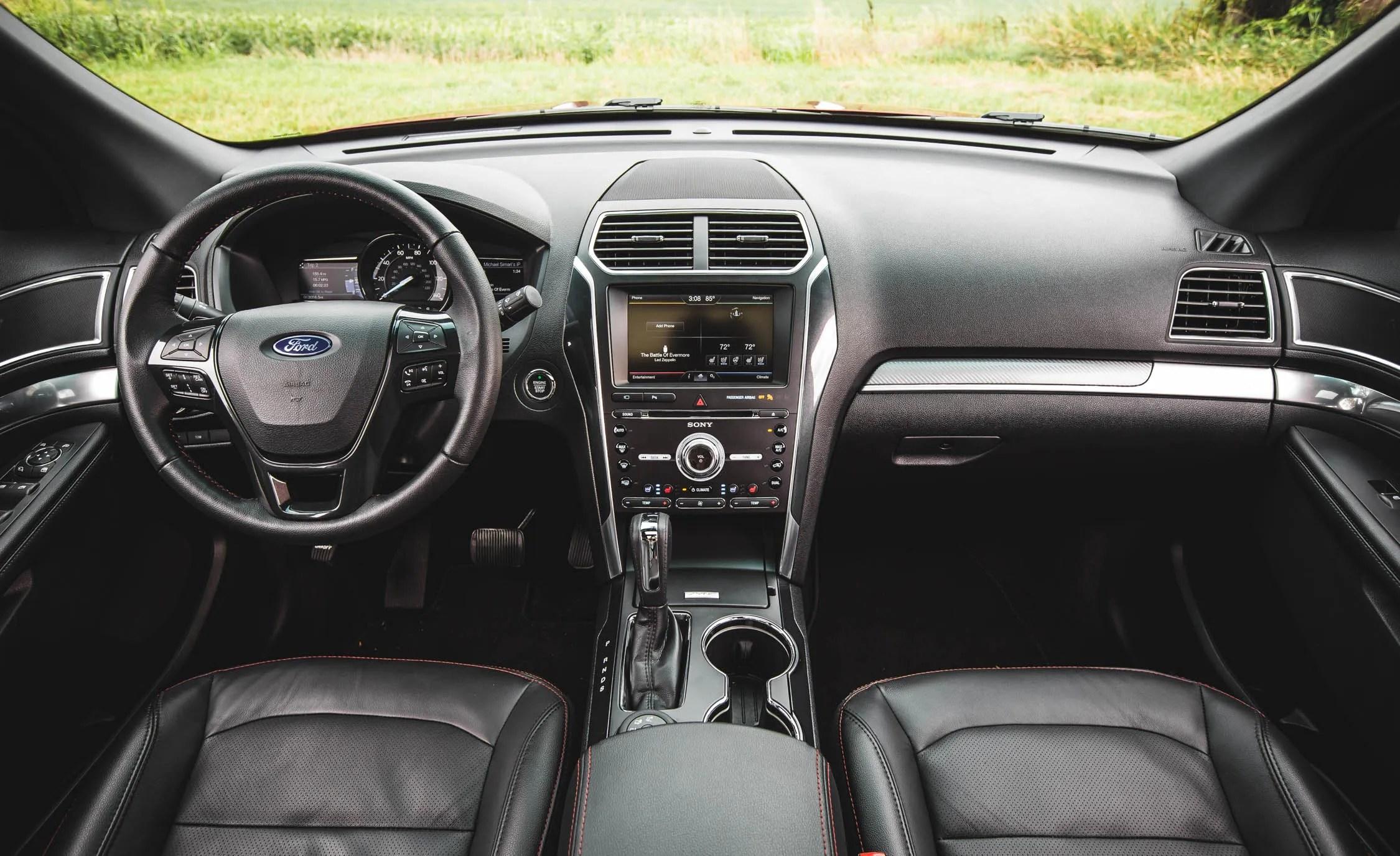 2016 Ford Explorer Sport Interior Dashboard