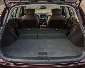 2016 Infiniti QX50 Interior Cargo Folded Seats