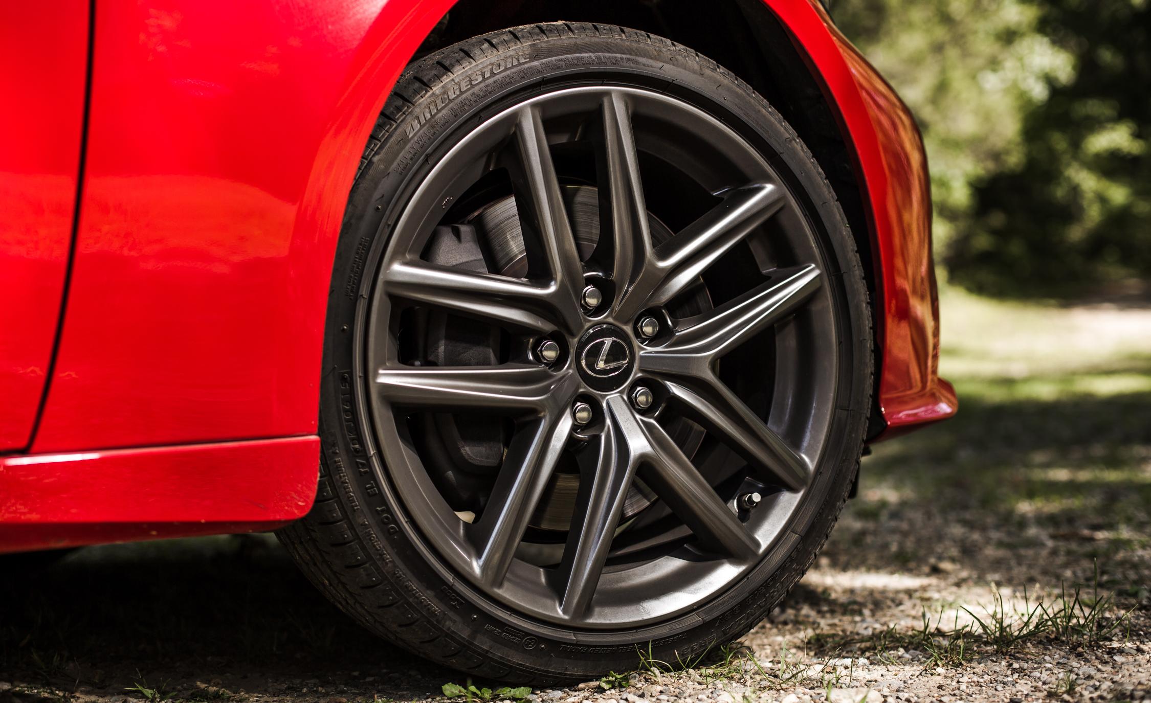 2016 Lexus IS200t F Sport Exterior Wheel