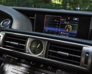 2016 Lexus IS200t F Sport Interior Center Head Unit