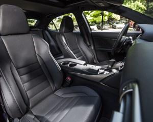 2016 Lexus IS200t F Sport Interior Seats Front