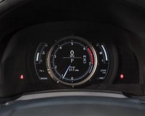 2016 Lexus IS200t F Sport Interior Speedometer