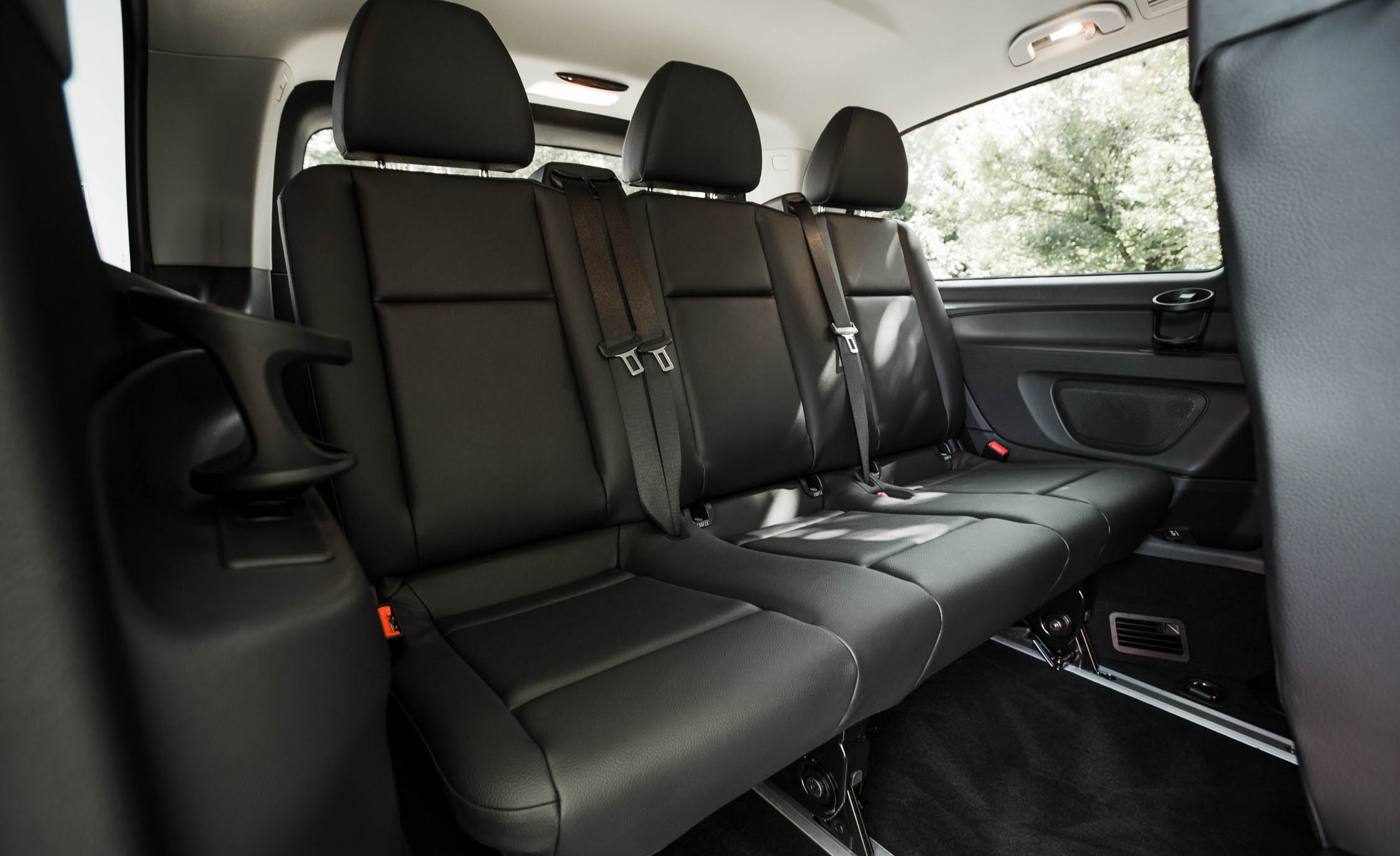 2016 Mercedes-Benz Metris Interior 3rd Row Seats