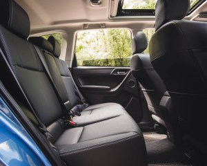 2016 Subaru Forester 2.0XT Touring Interior Rear
