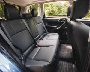 2016 Subaru Forester 2.0XT Touring Interior Seats Rear