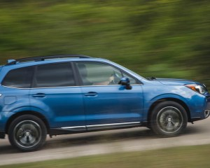 2016 Subaru Forester 2.0XT Touring Test Side View