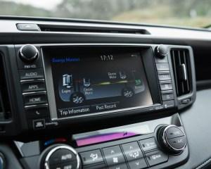 2016 Toyota RAV4 Hybrid Interior Center Head Screen