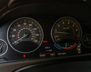 2016 BMW 340i Interior Speedometer