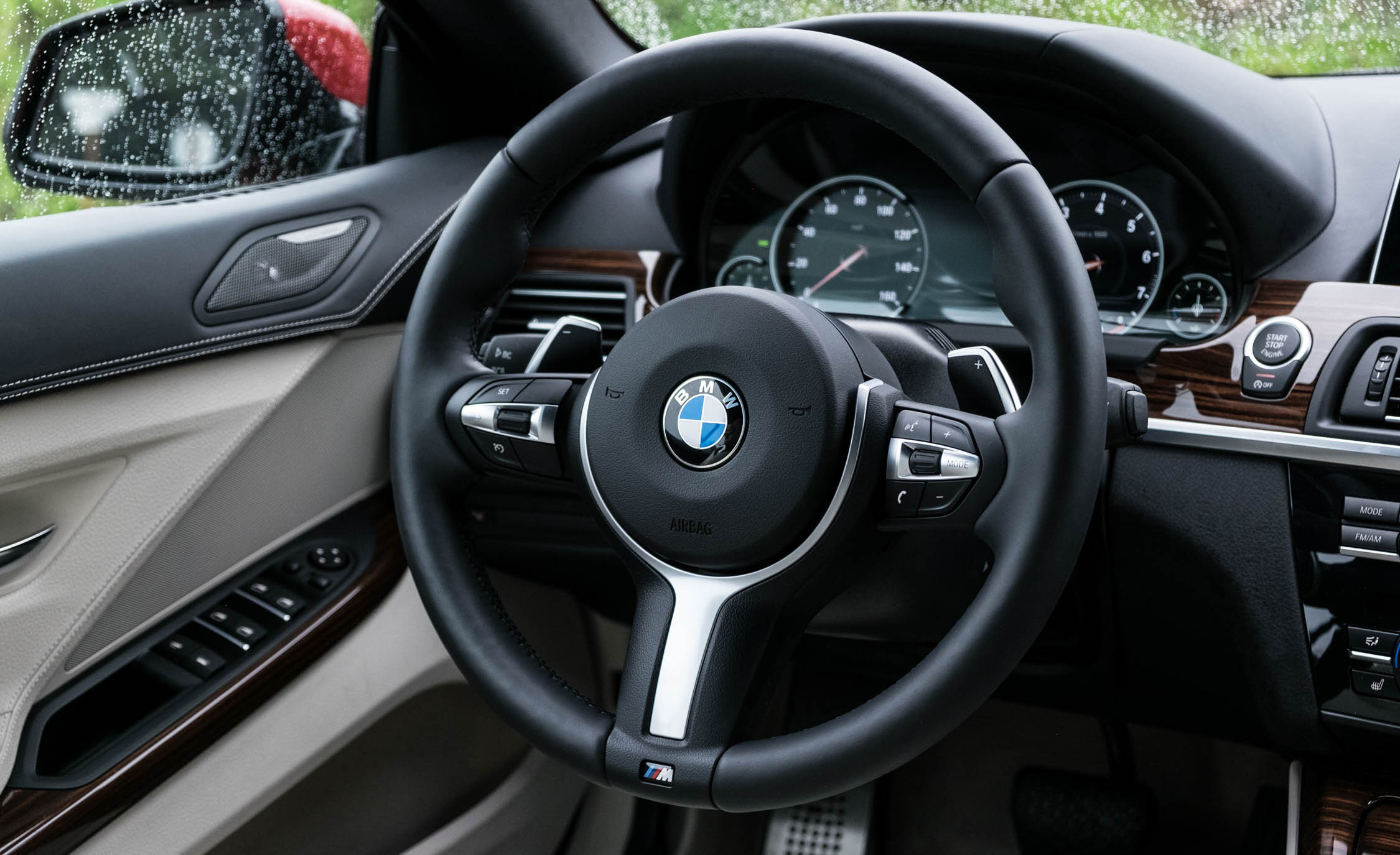 2016 BMW 640i Convertible Interior Steering