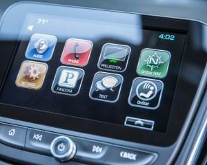 2016 Chevrolet Malibu LT Interior Head Unit