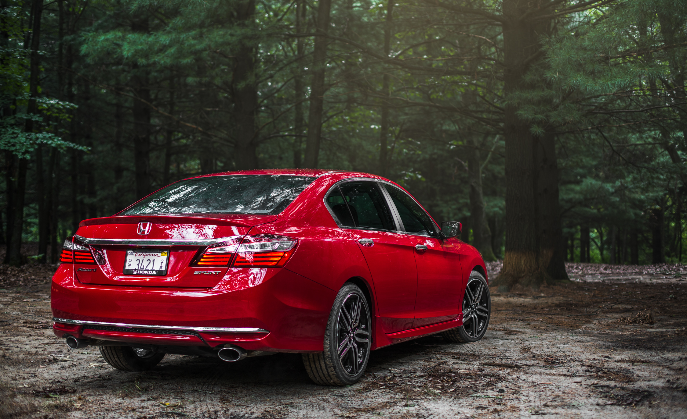 2016 Honda Accord Sport Exterior Full Rear and Side