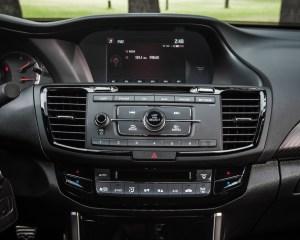 2016 Honda Accord Sport Interior Headunit