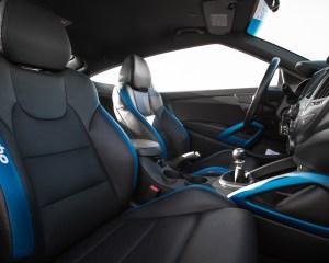 2016 Hyundai Veloster Turbo Rally Edition Interior Seats Front
