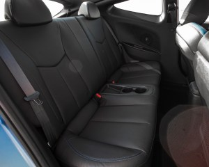 2016 Hyundai Veloster Turbo Rally Edition Interior Seats Rear