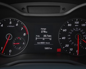 2016 Hyundai Veloster Turbo Rally Edition Interior Speedometer