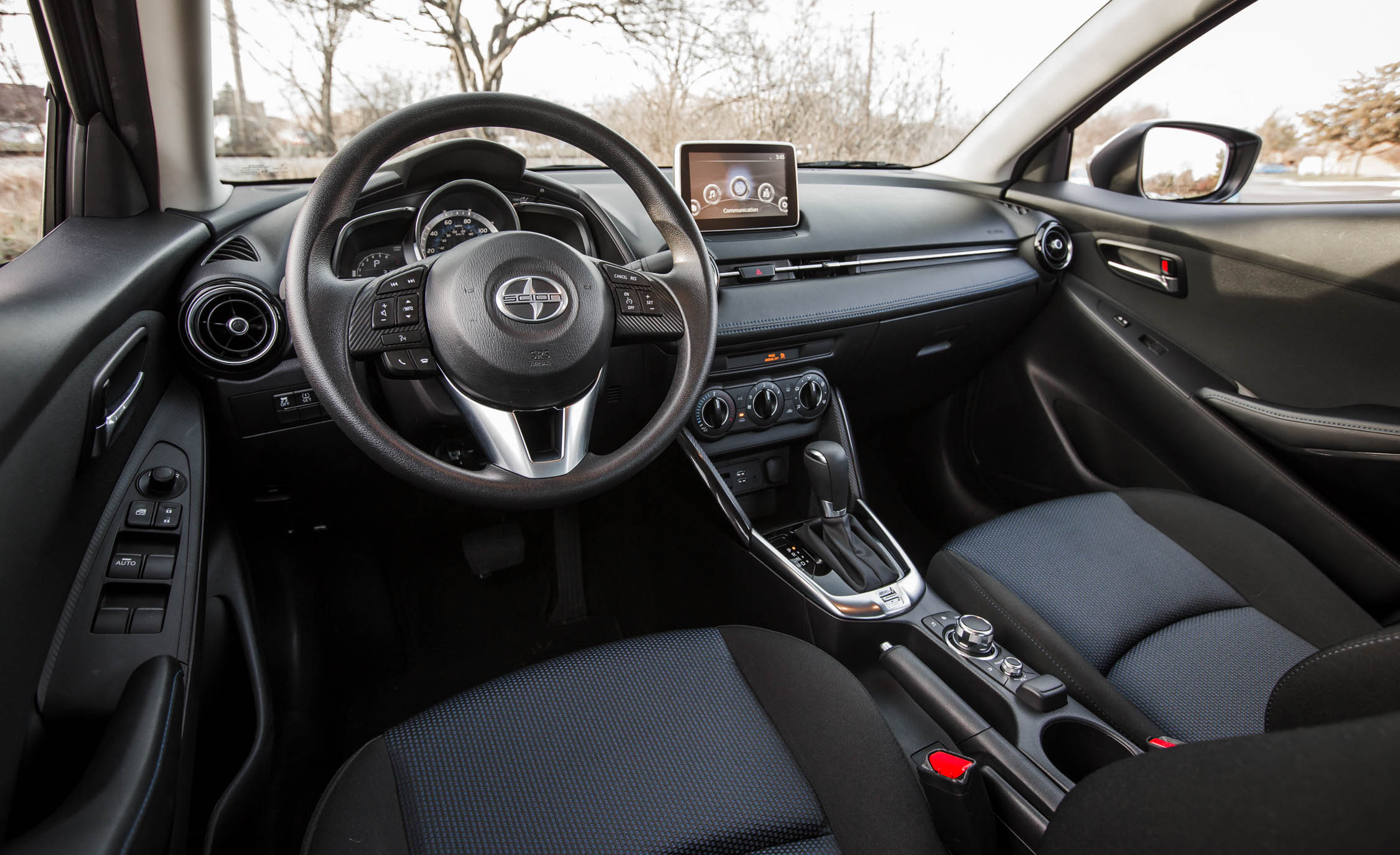 2016 Scion iA Interior Cockpit