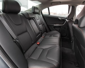 2016 Volvo S60 Cross Country Interior Rear Passenger Seats