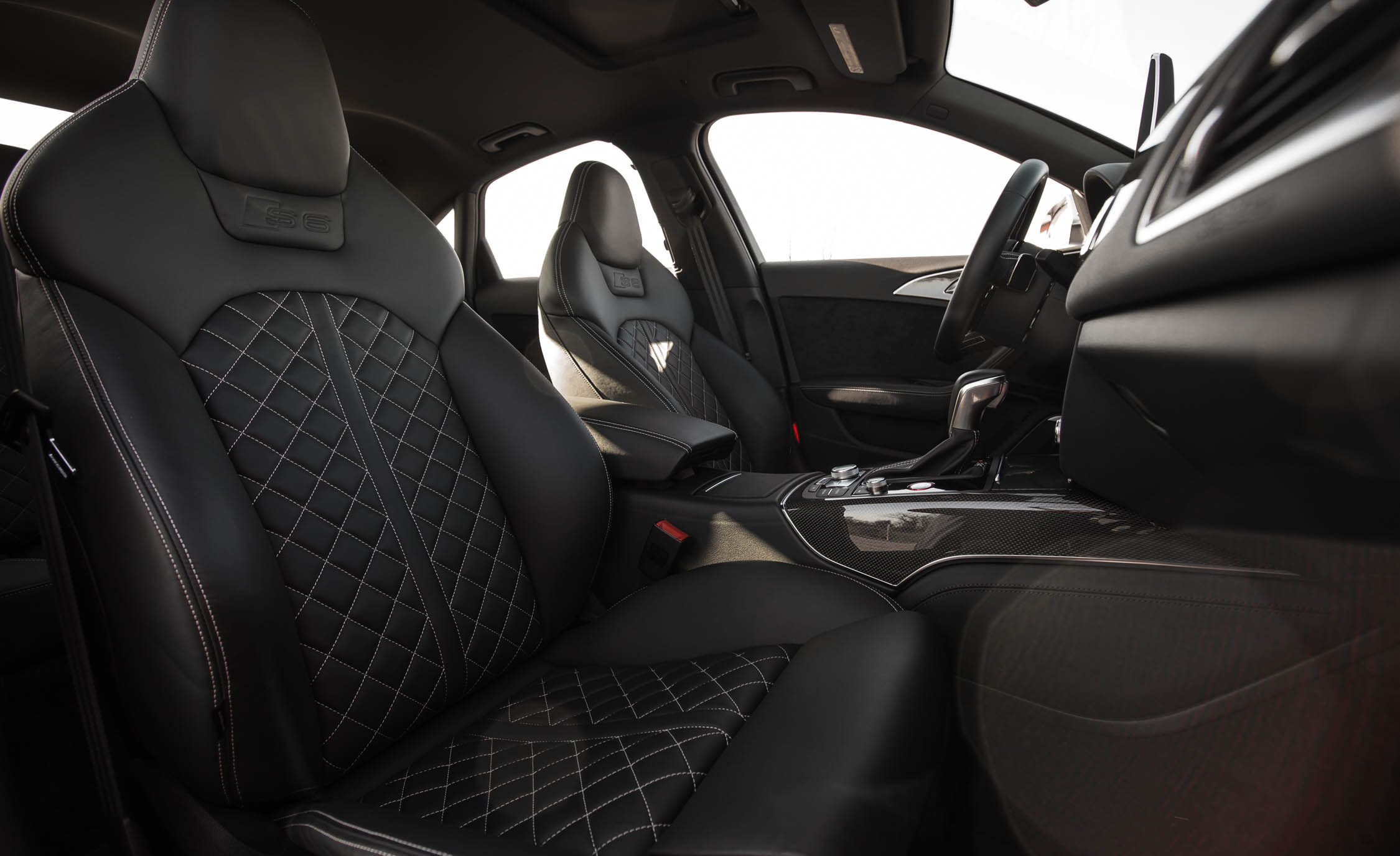 2016 Audi S6 Interior Seats Front