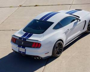 2017 Ford Mustang Shelby GT350 Rear View