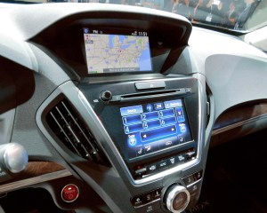 2017 Acura MDX Infotainment System View