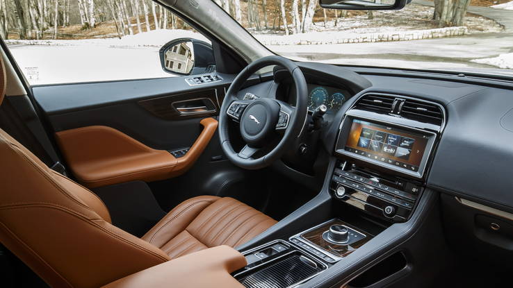 2017 Jaguar F-Pace SUV Interior View