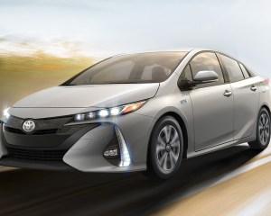 2017 Toyota Prius Prime Front View