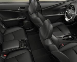 2017 Toyota Prius Prime Interior View